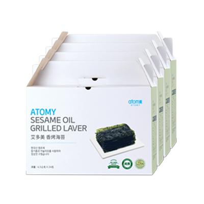 Atomy Sesame Oil Grilled Laver (Gift 4set)