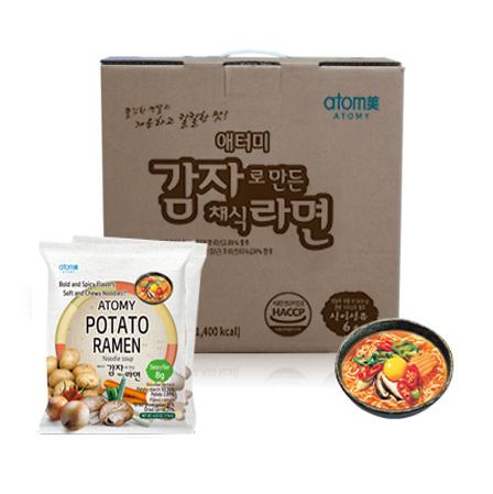 Atomy Potato Ramen *1box(24 Packets)