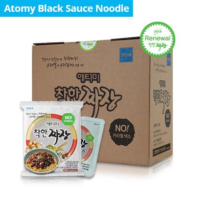 Atomy Black Bean Sauce Noodle *1box(16 Packets)